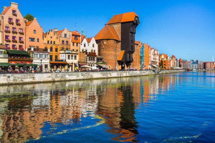 Старый город в Гданьске - достопримечательности Польши