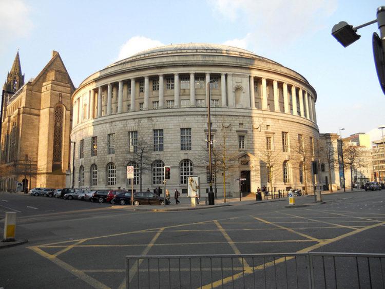 Центральная библиотека Манчестера достопримечательности Манчестера