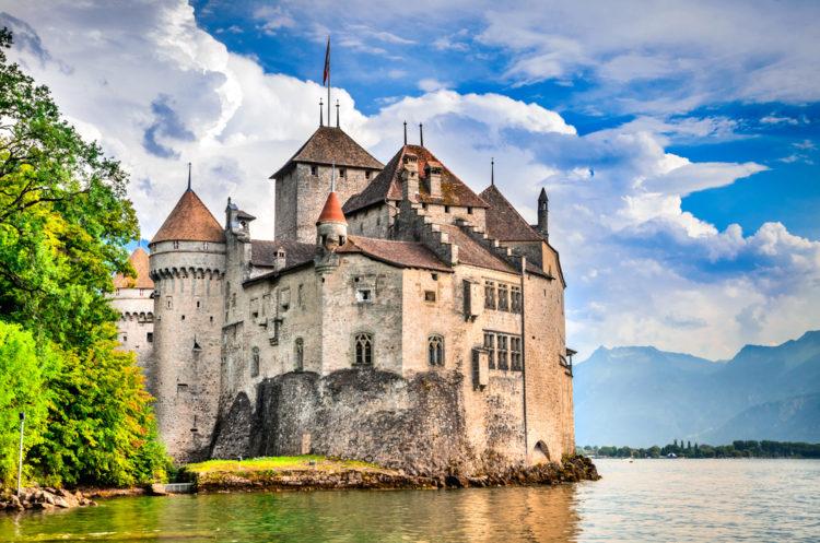 Шильонский замок - достопримечательности Швейцарии