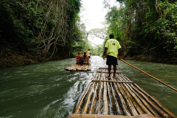 Река Марта Брэ - достопримечательности Ямайки