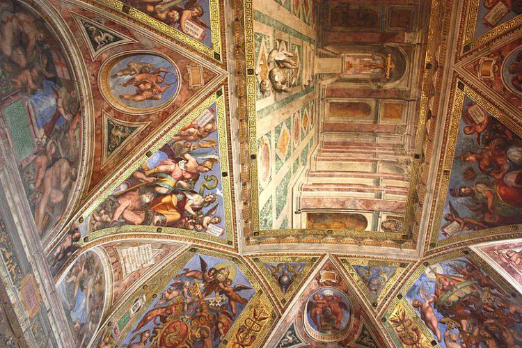 Станцы Рафаэля - достопримечательности Ватикана