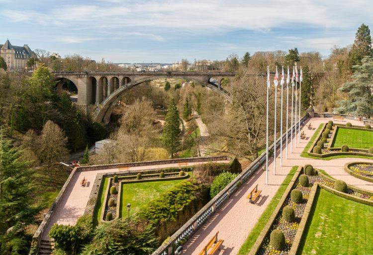 Мост Адольфа - достопримечательности Люксенбурга