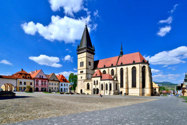 Город Бардеёв - достопримечательности Словакии