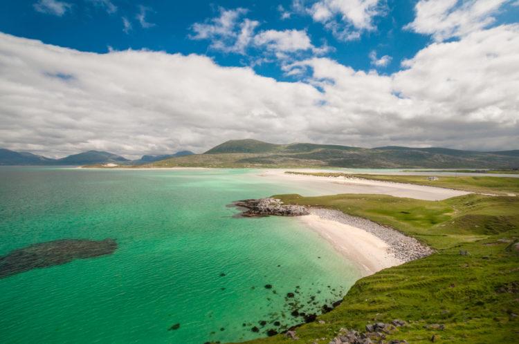 Пляж Лускентайр (Luskentyre) - достопримечательности Шотландии