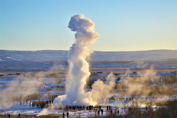 Великий Гейсир - достопримечательности Исландии