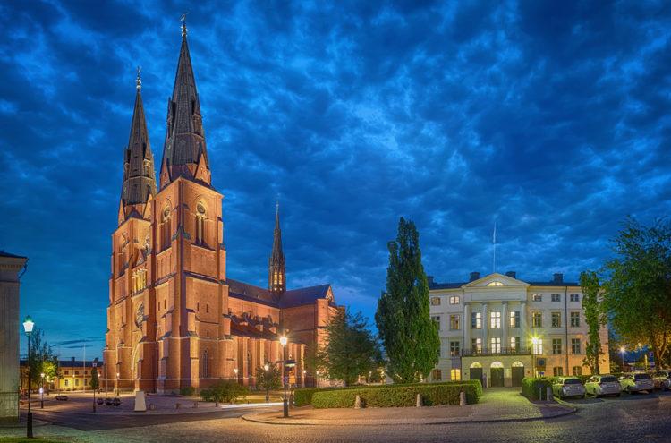 Кафедральный собор Уппсалы - достопримечательности Швеции