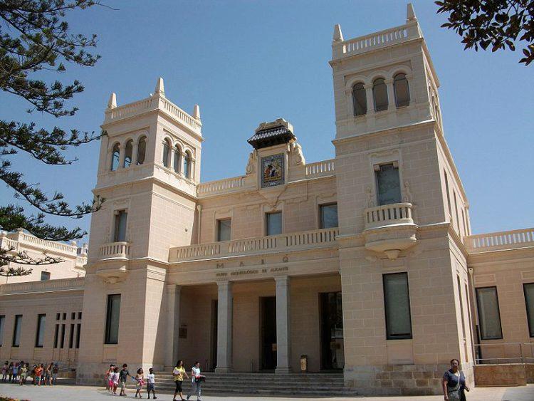 Археологический музей в Аликанте, в Испании