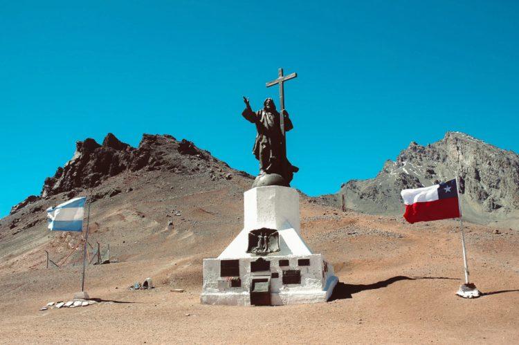 Андский Христос - достопримечательности Чили