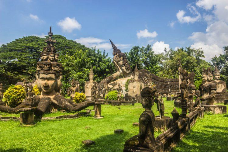 Будда-парк (Ват Сиенгкхуан) - достопримечательности Лаоса