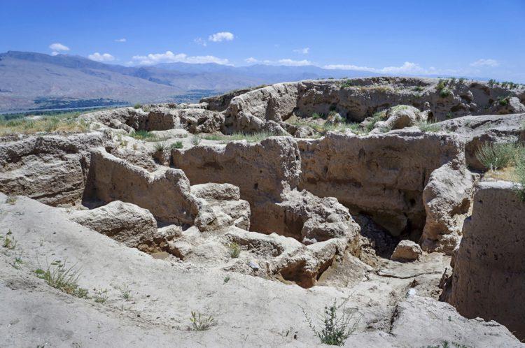 Саразм- древнее поселение - достопримечательности Таджикистана