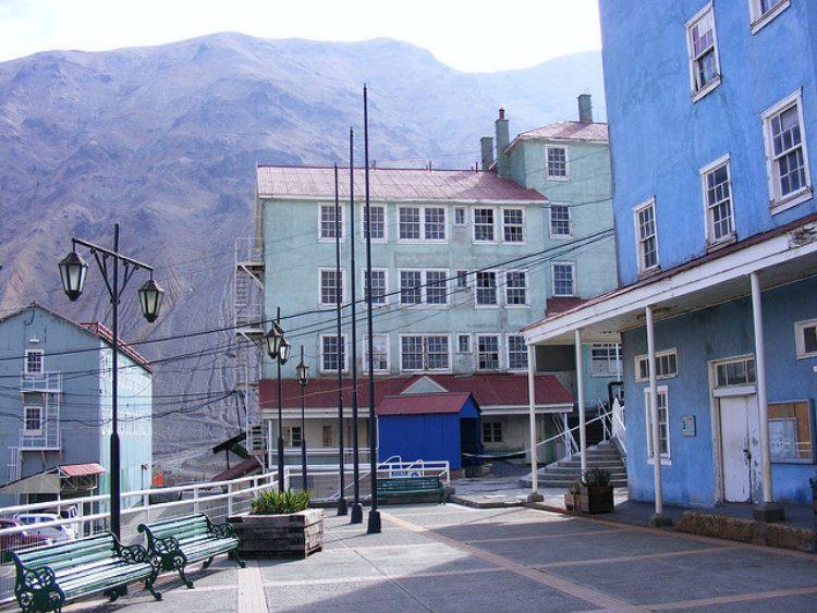 Шахтёрский городок Сьюэлл - достопримечательности Чили