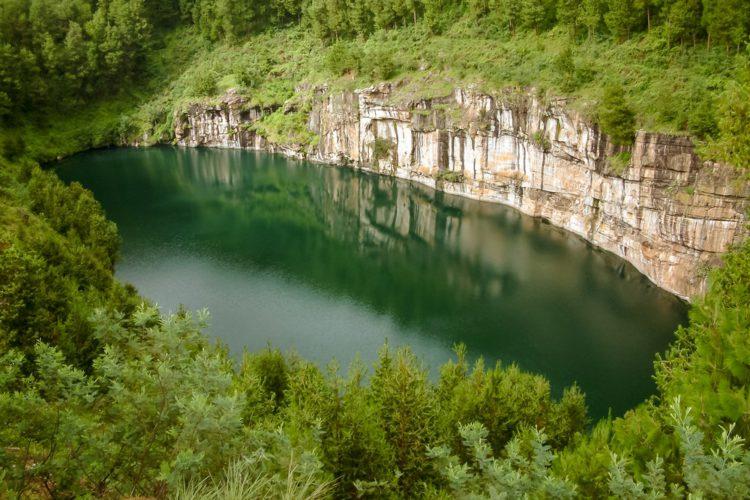 Озеро Тритрива - достопримечательности Мадагаскара