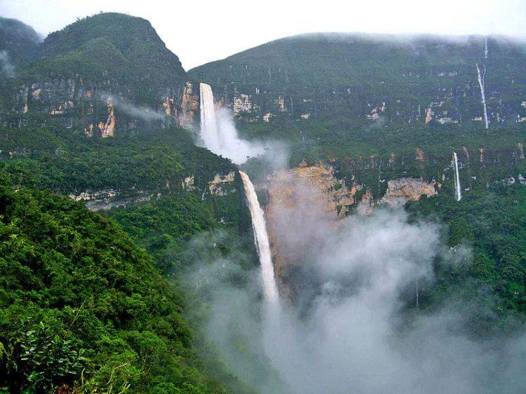 Водопад Гокта - достопримечательности Перу