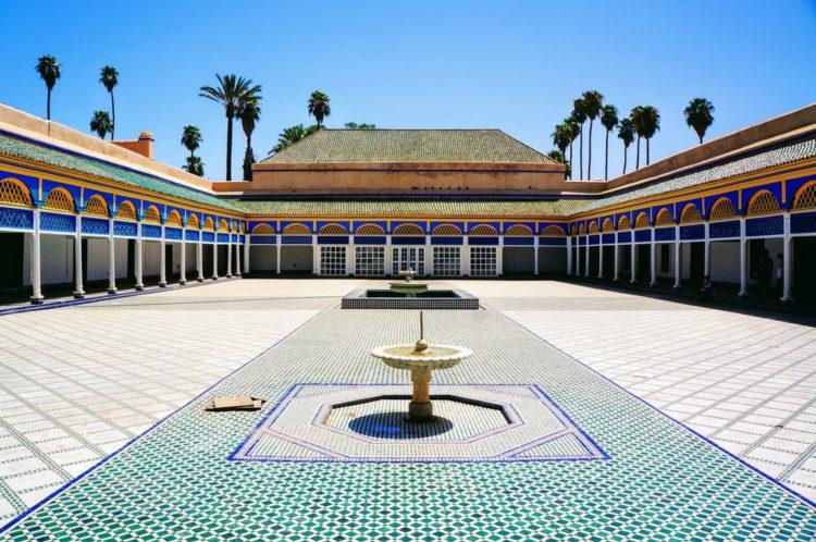 Дворец Бахия - достопримечательности Марокко
