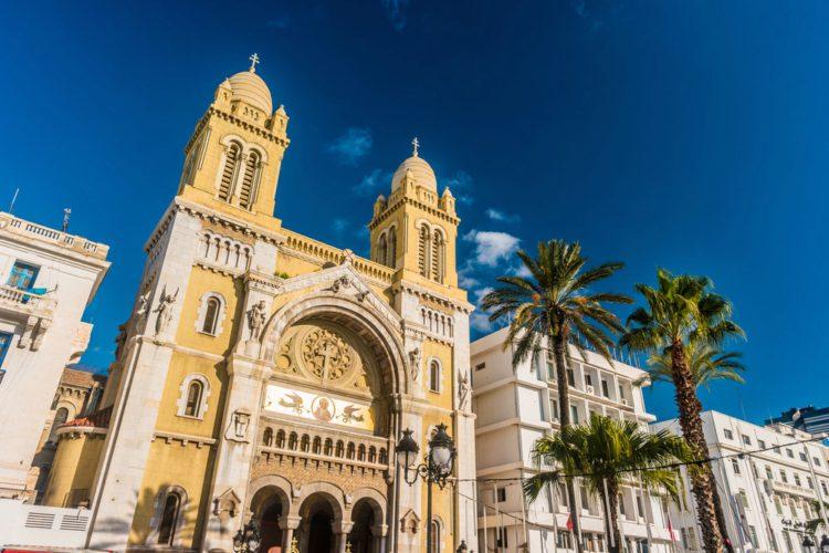 Собор Святого Викентия де Поля - достопримечательности Туниса