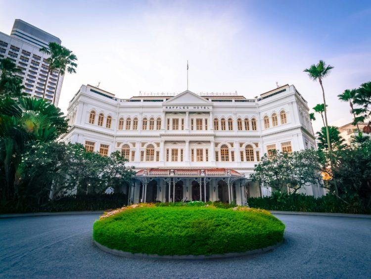 Отель Раффлз - достопримечательности Сингапура