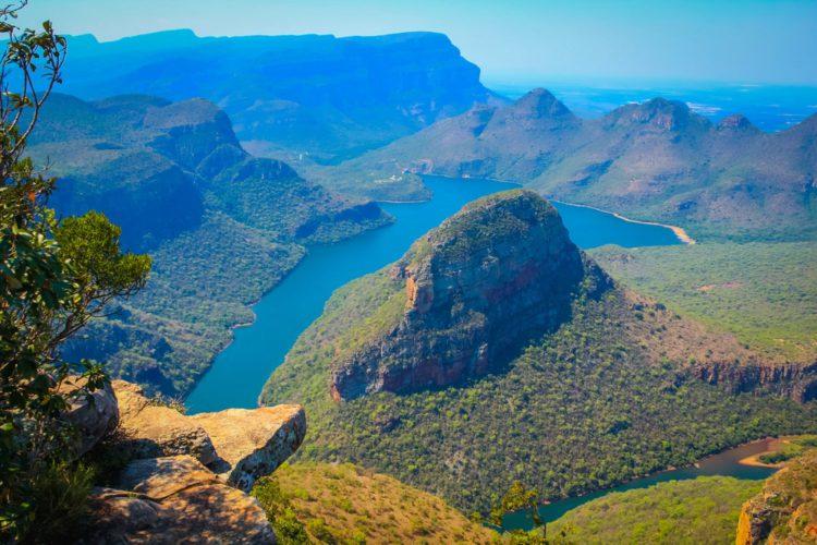 Каньон реки Блайд - достопримечательности ЮАР