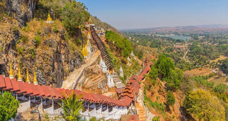 Пещеры Пиндайя - достопримечательности Мьянмы