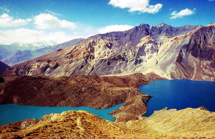 Сарезское озеро - достопримечательности Таджикистана