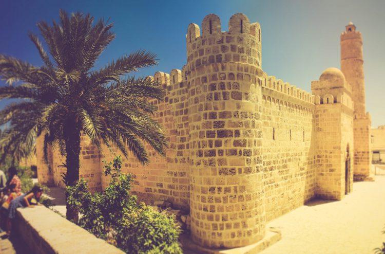 Крепость Рибат в Суссе - достопримечательности Туниса