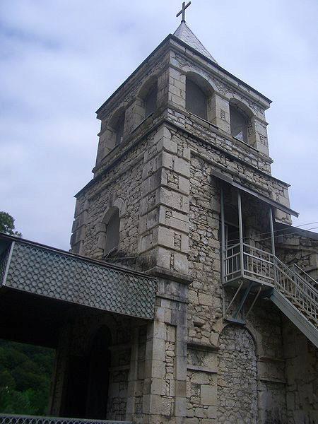 Команский монастырь - достопримечательности Абхазии