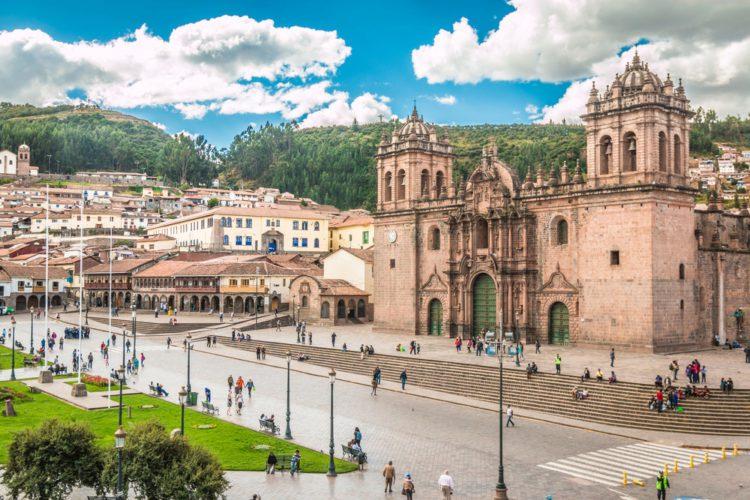 Пласа-де-Армас (Куско) - достопримечательности Перу