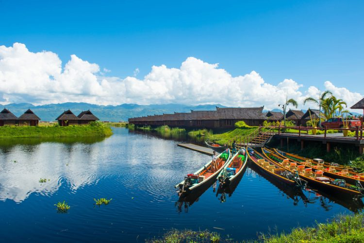 Озеро Инле - достопримечательности Мьянмы