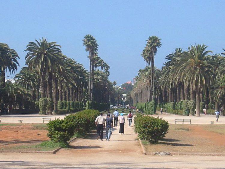 Парк Лиги арабских государств - достопримечательности Марокко