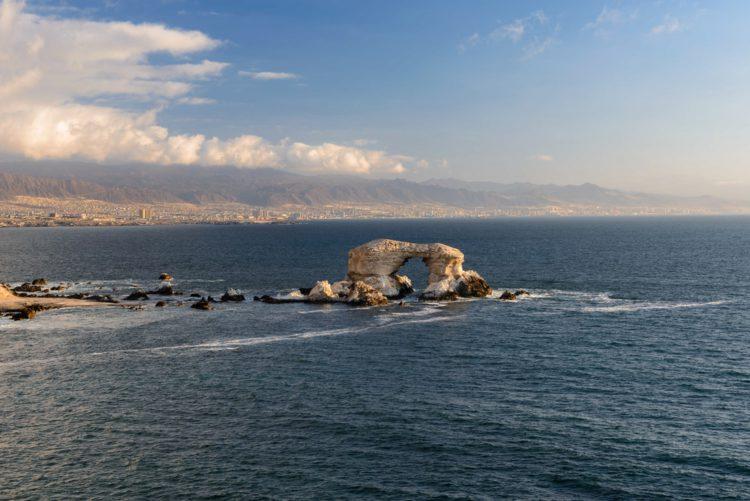 Природный памятник Ла-Портада - достопримечательности Чили