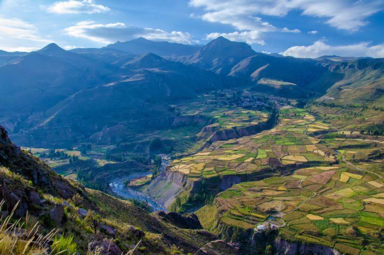 Каньон Колка - достопримечательности Перу