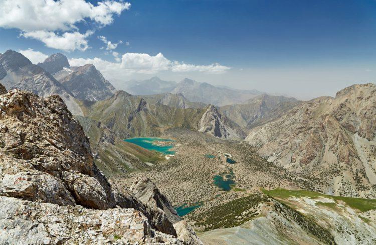 Фанские горы - достопримечательности Таджикистана