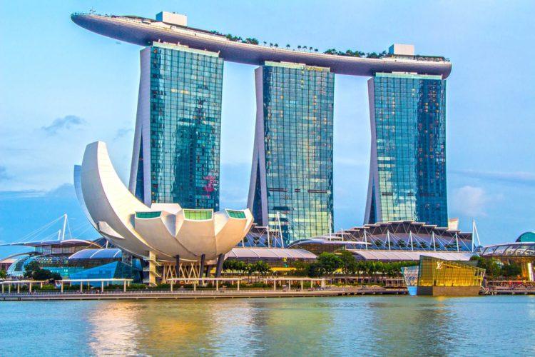 Отель Марина Бэй Сэндс - достопримечательности Сингапура