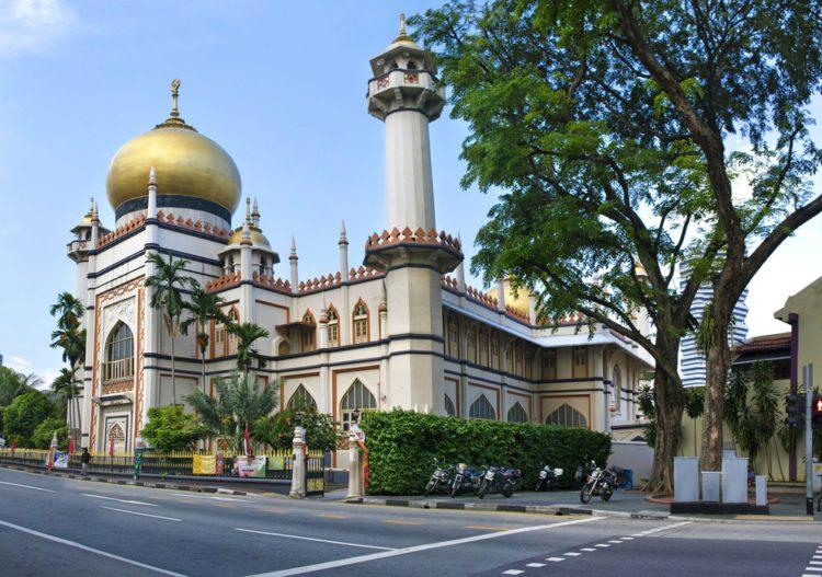 Мечеть Султана Хуссейна - достопримечательности Сингапура