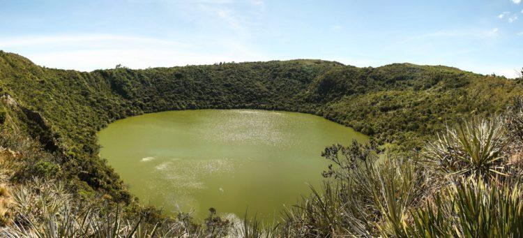 Озеро Гуатавита - достопримечательности Колумбии