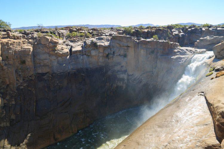 Водопад Ауграбис - достопримечательности ЮАР