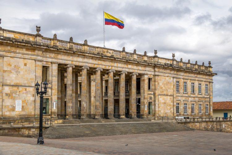 Здание национального Капитолия - достопримечательности Колумбии