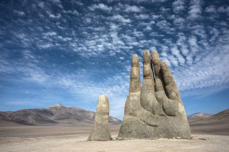 Рука пустыни - Что посмотреть в Чили