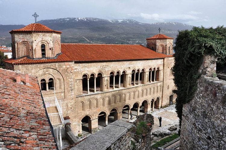 Церковь Святой Софии в Охриде - Что посмотреть в Македонии