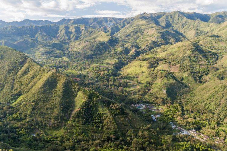 Тьеррадентро - достопримечательности Колумбии