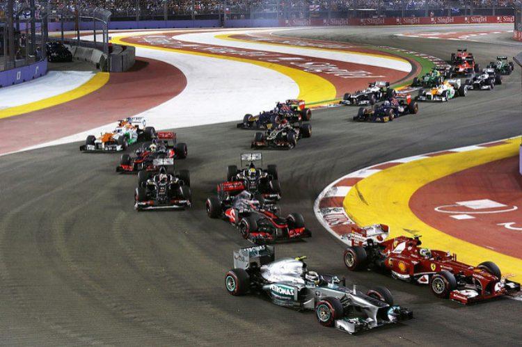 Формула 1: Гран-при Сингапура - достопримечательности Сингапура