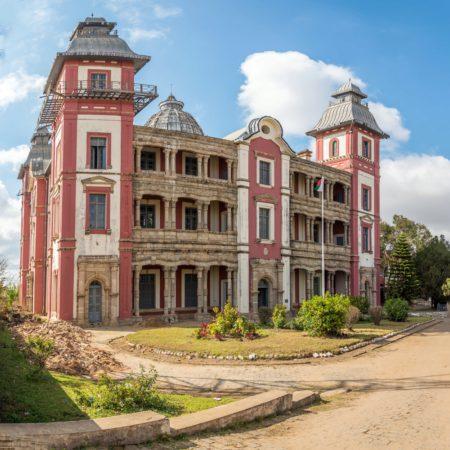 Дворец «Andafiavaratra Palace» - достопримечательности Мадагаскара