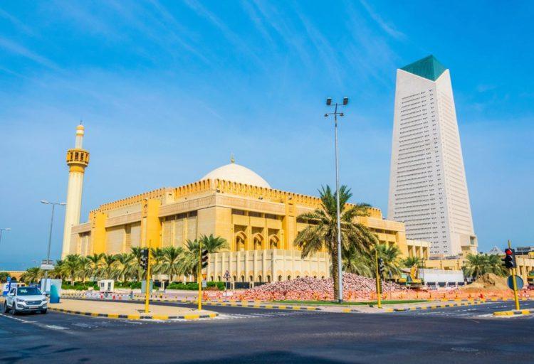 Большая мечеть (Grand Mosque in Kuwait) - достопримечательности Кувейта