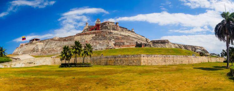 Крепость Сан Фелипе де Барахас - достопримечательности Колумбии