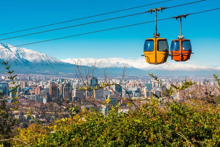 Холм Сан-Кристобаль - достопримечательности Чили