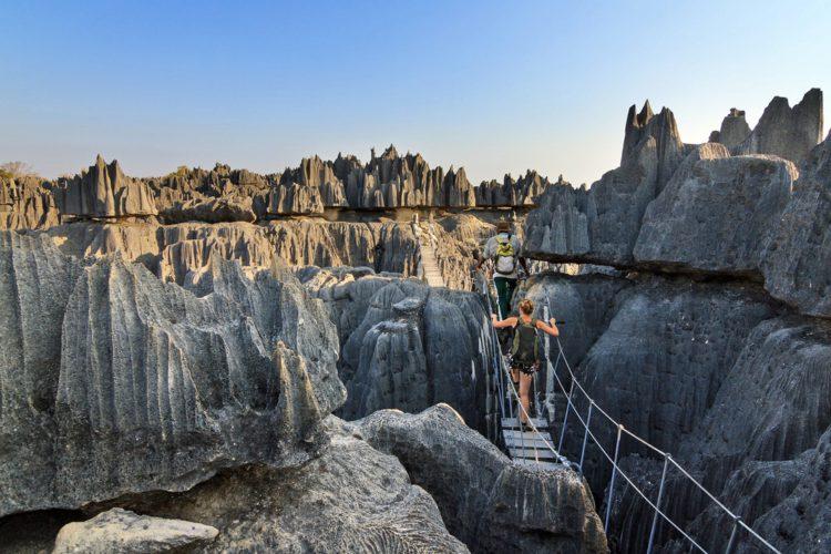 Заповедник Цинжи-дю-Бемараха - достопримечательности Мадагаскара