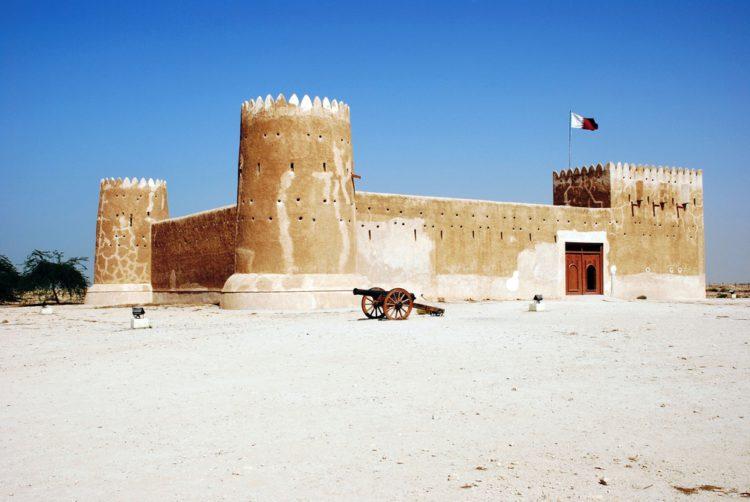 Форт Зубара - достопримечательности Катара