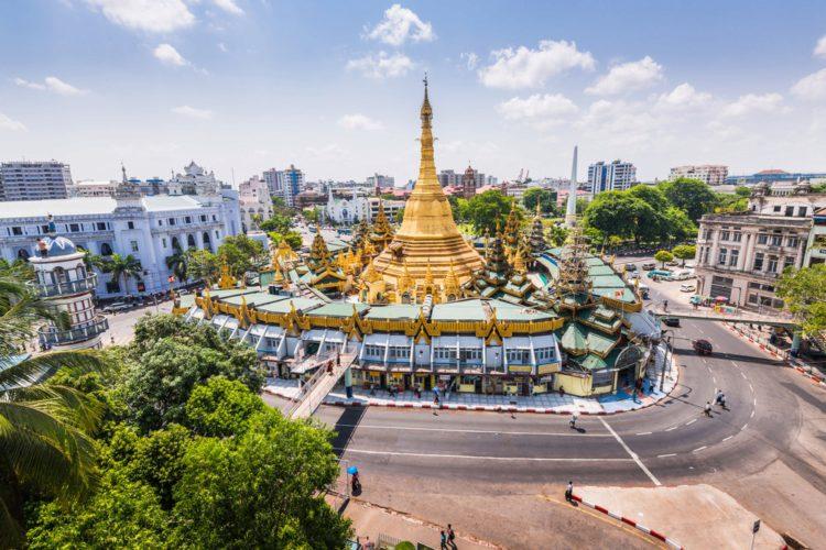 Пагода Суле - достопримечательности Мьянмы