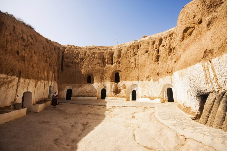 Пещерный город Матмата - достопримечательности Туниса