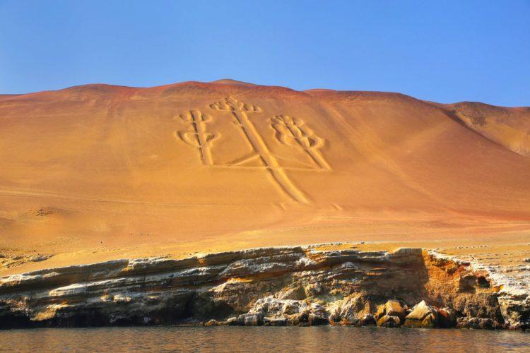 Андский канделябр - достопримечательности Перу