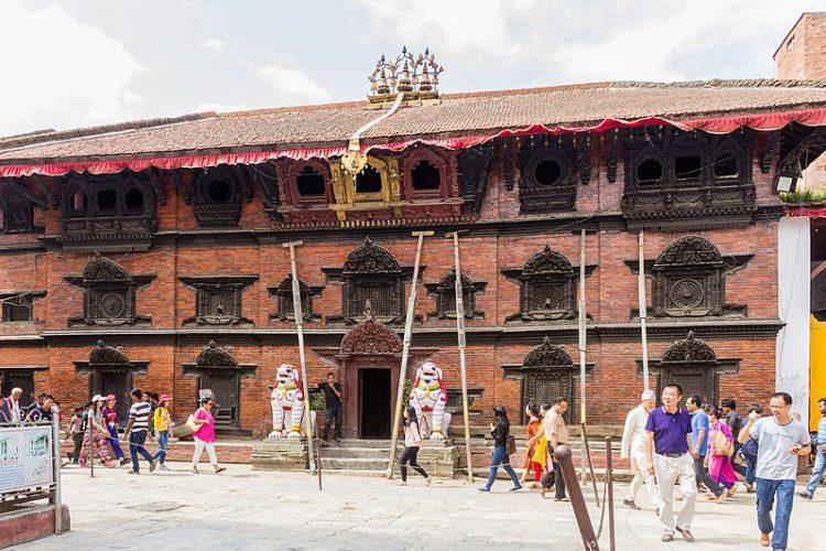 Храм Кумари-Гхар (Храм богини Кумари) - достопримечательности Непала